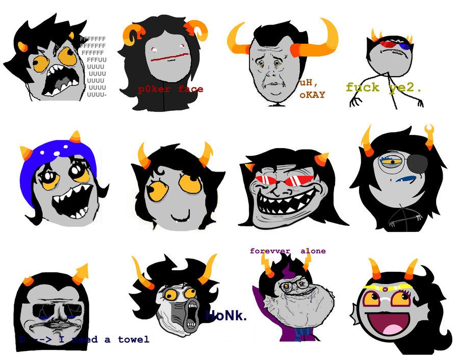 Dessins en couleurs à imprimer : Troll face, numéro : 413038
