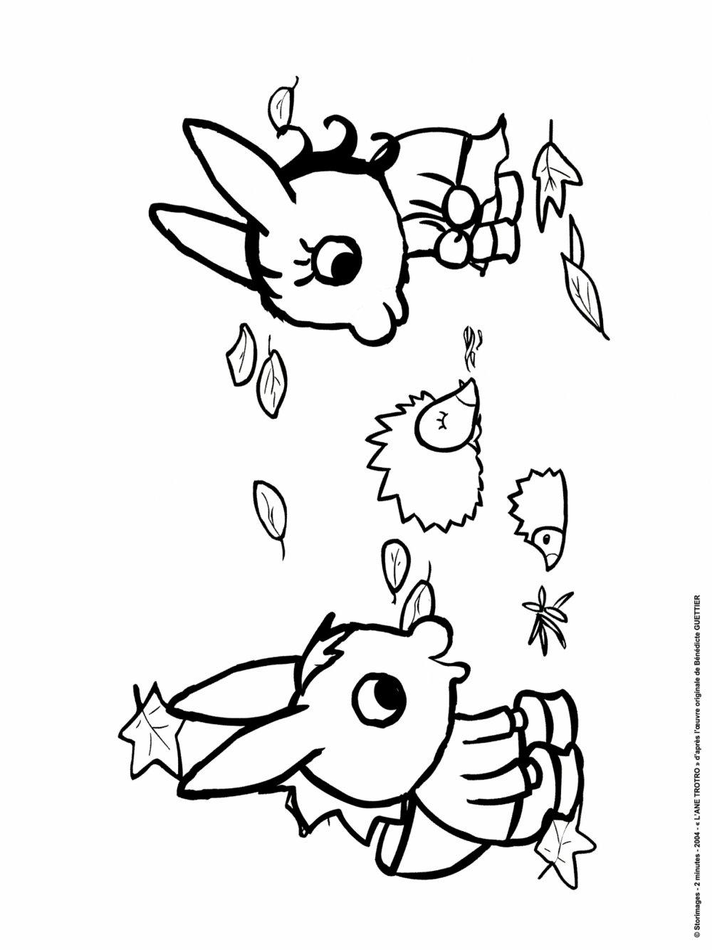 Coloriages à imprimer : Trotro, numéro : 3a9472b4