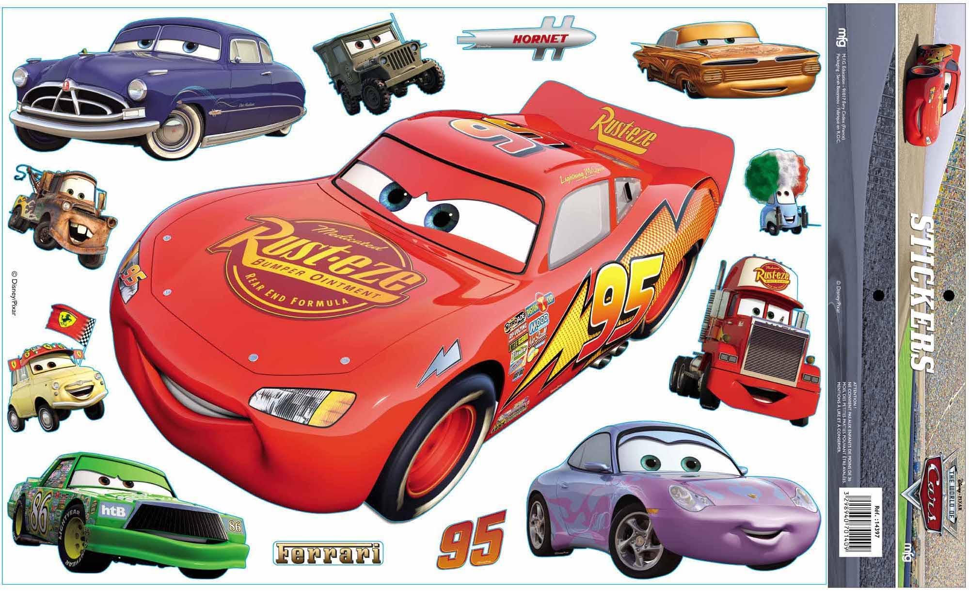 Dessins En Couleurs à Imprimer Cars Numéro 266123