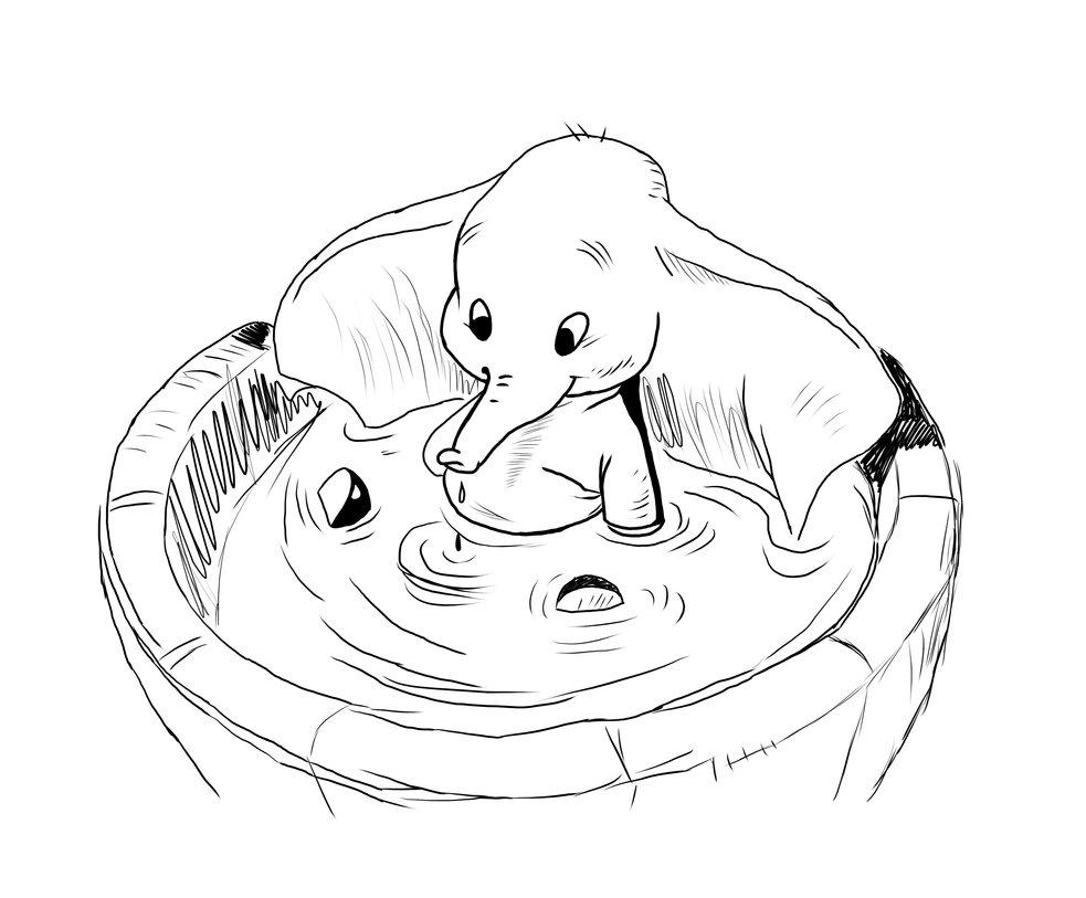 Coloriages à Imprimer Dumbo Numéro 485775
