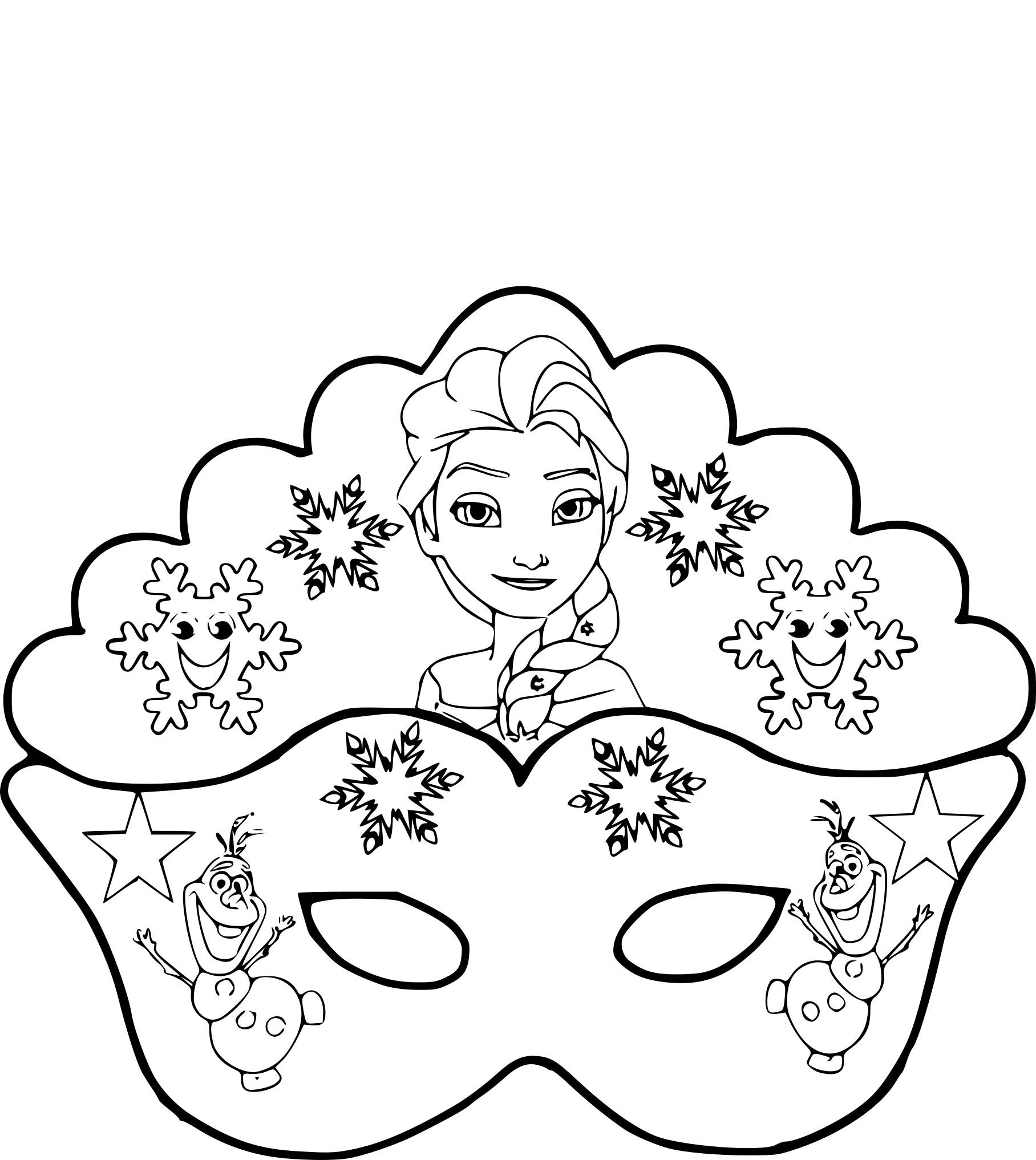 Coloriages à imprimer : La Reine des neiges, numéro : 135664f1