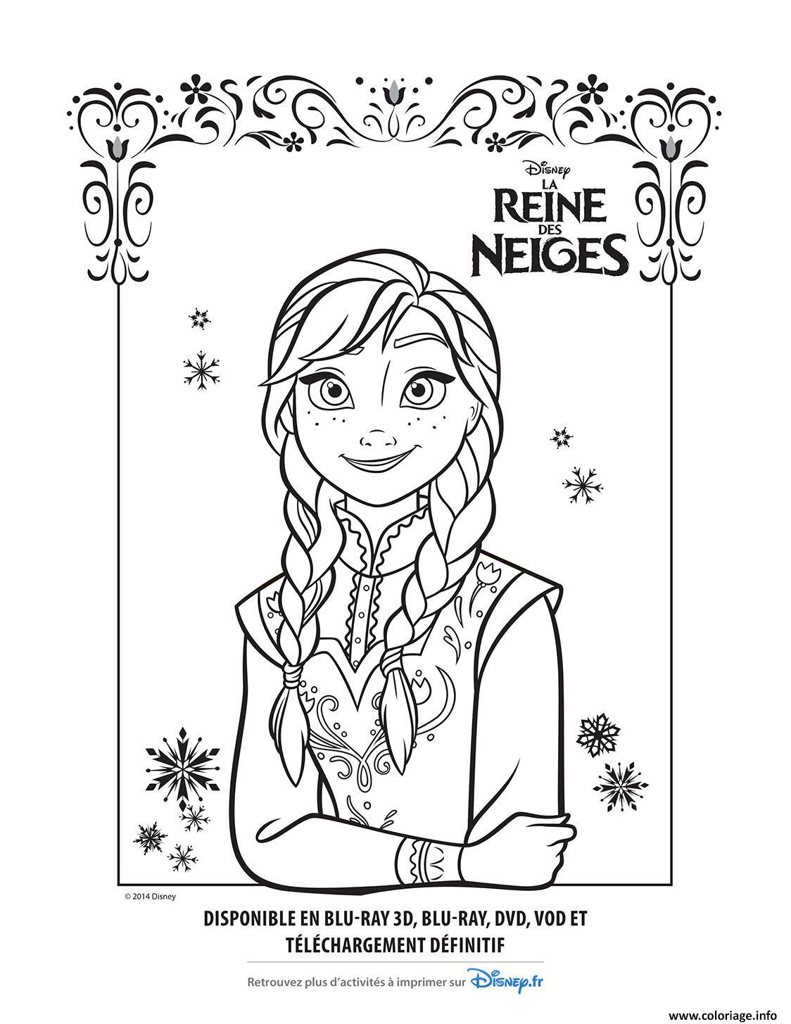 Coloriages A Imprimer La Reine Des Neiges Numero 1f0979c3