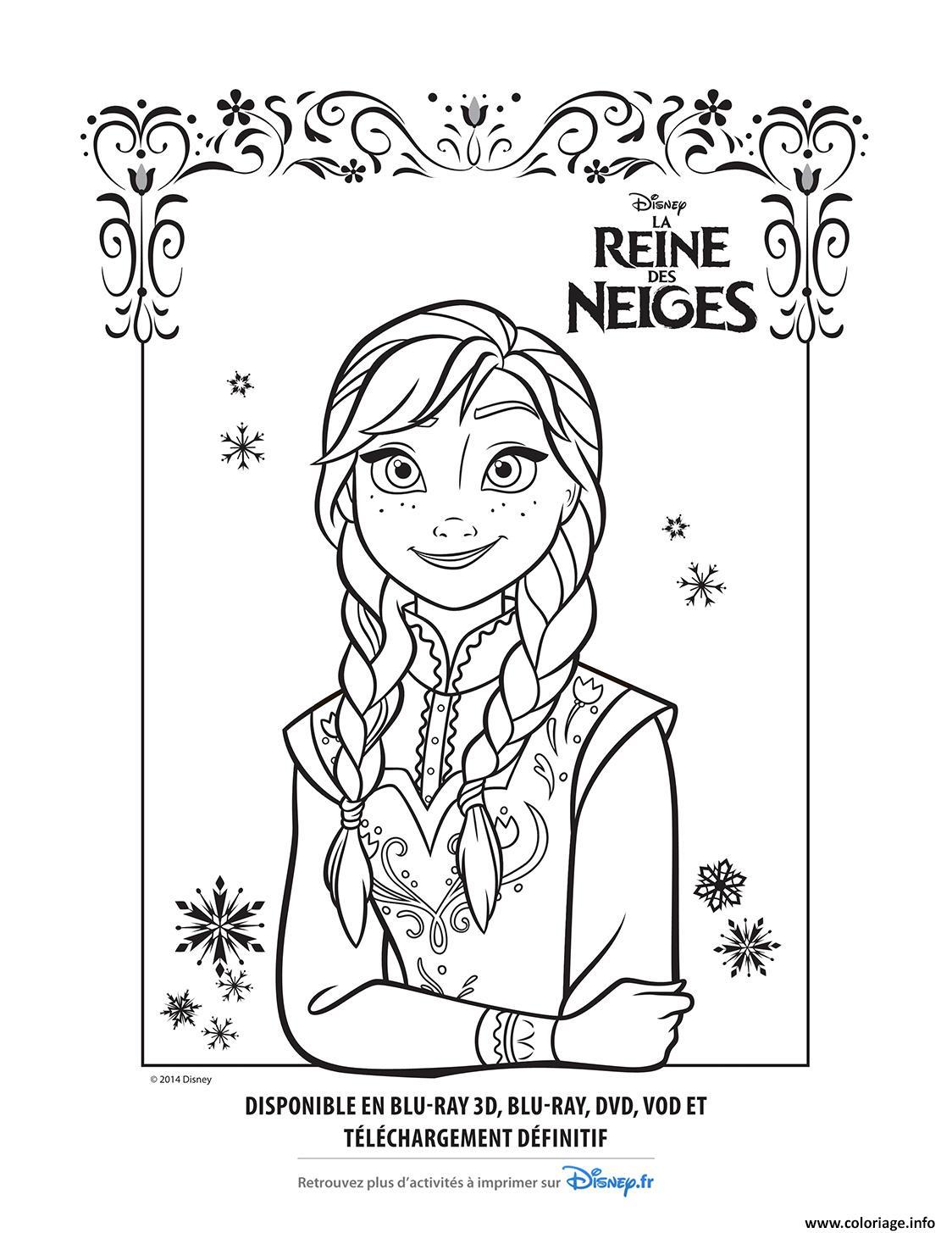 Get Coloriage Imprimer Reine Des Neiges PNG - Malvorlagen ...