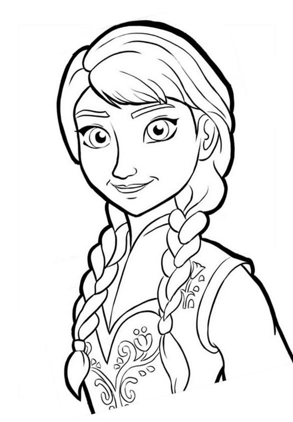 Coloriages à imprimer : La Reine des neiges, numéro : 671608