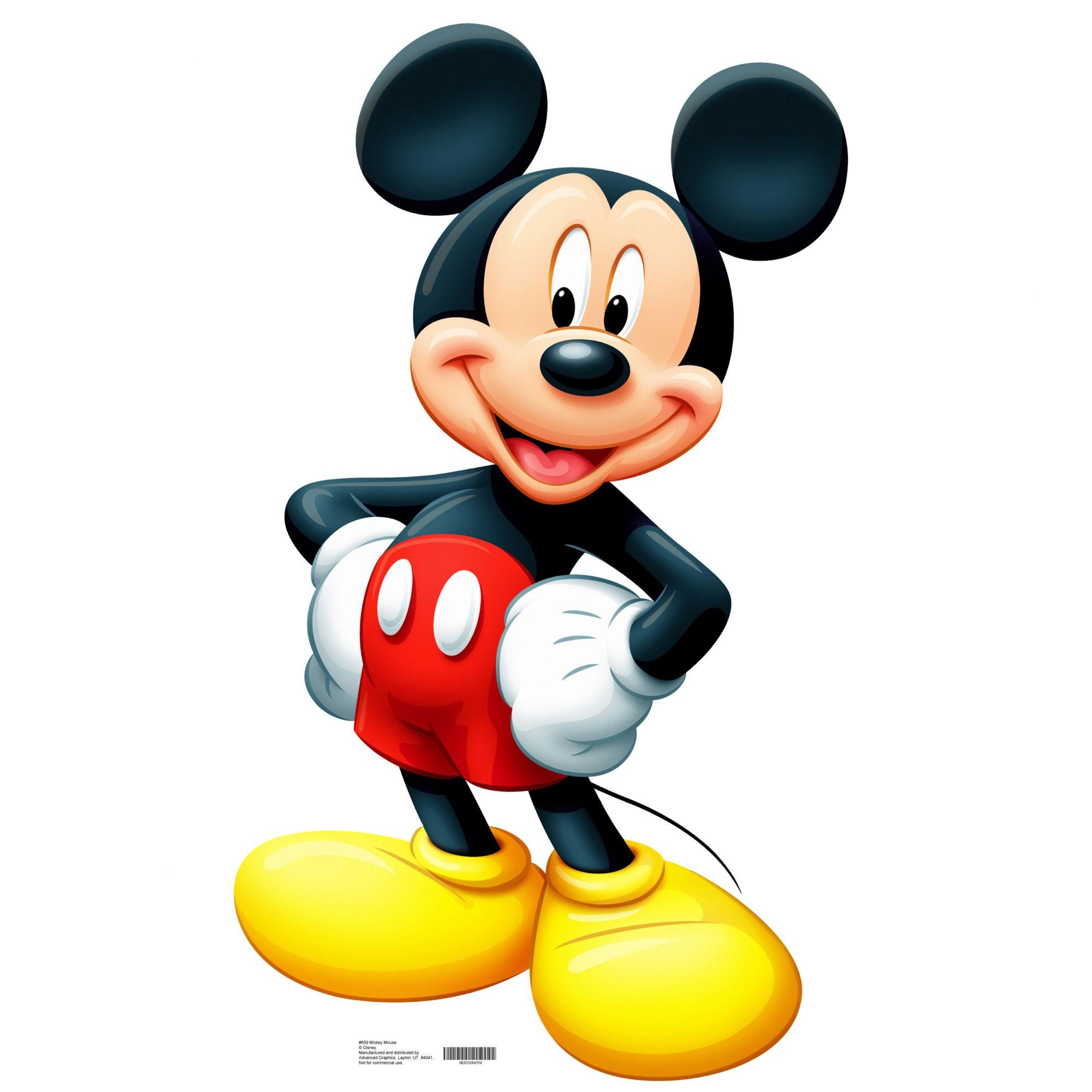 Dessins en couleurs à imprimer : Mickey Mouse, numéro : 692680