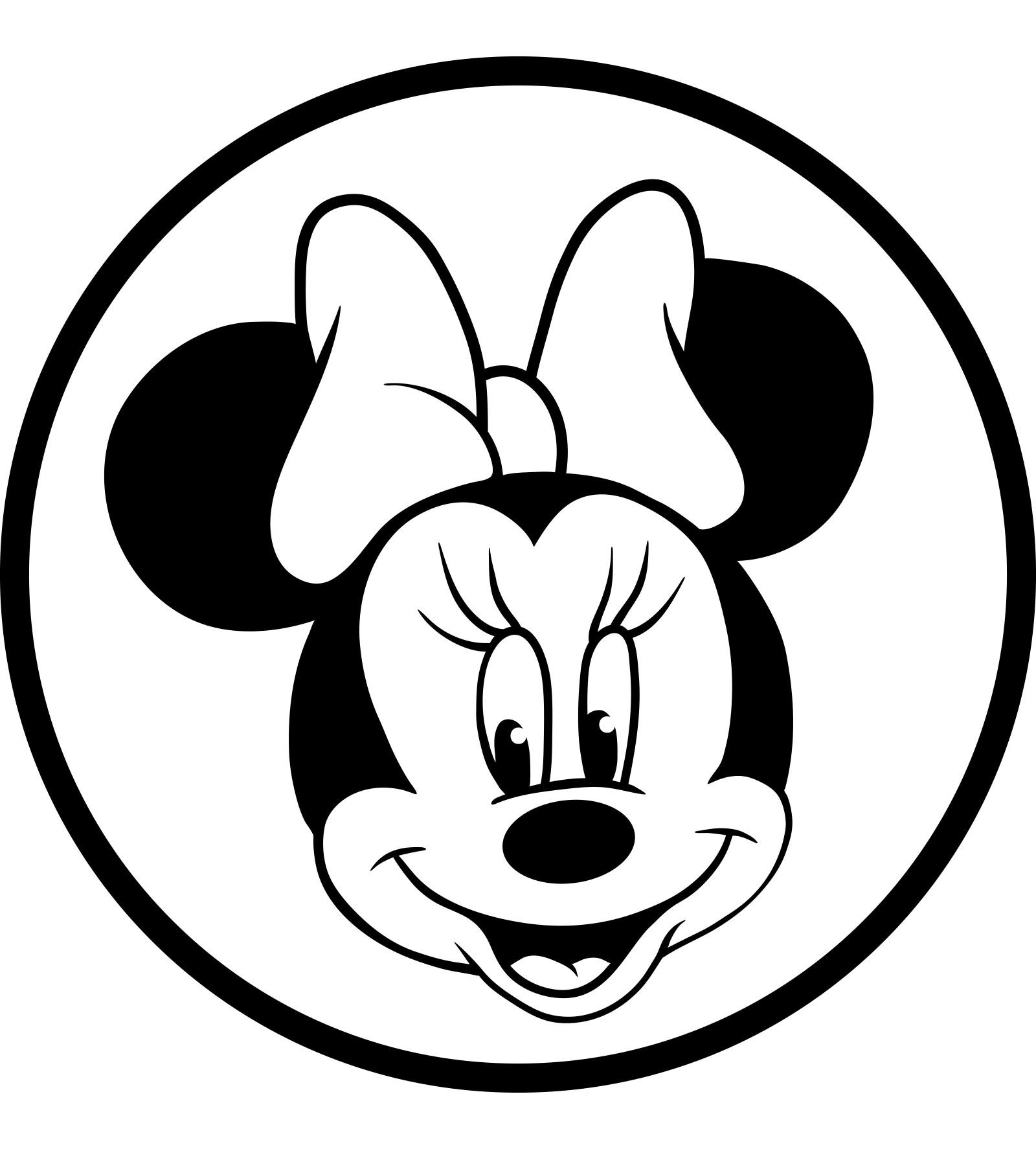 Coloriages à imprimer : Minnie Mouse, numéro : 760077