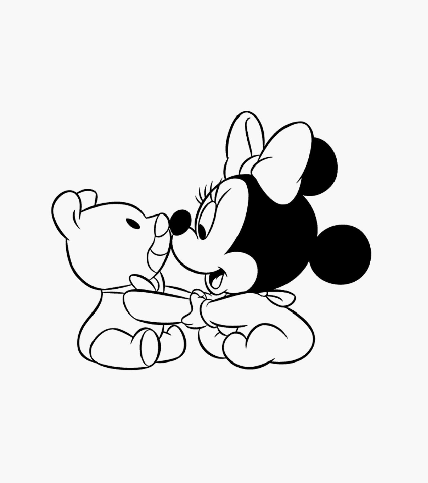 Coloriages à imprimer : Minnie Mouse, numéro : 801eec8b