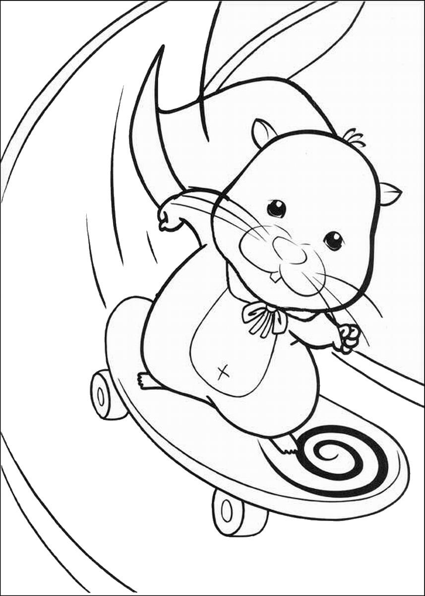 Coloriages à imprimer : Zhu Zhu Pets, numéro : 120b2629