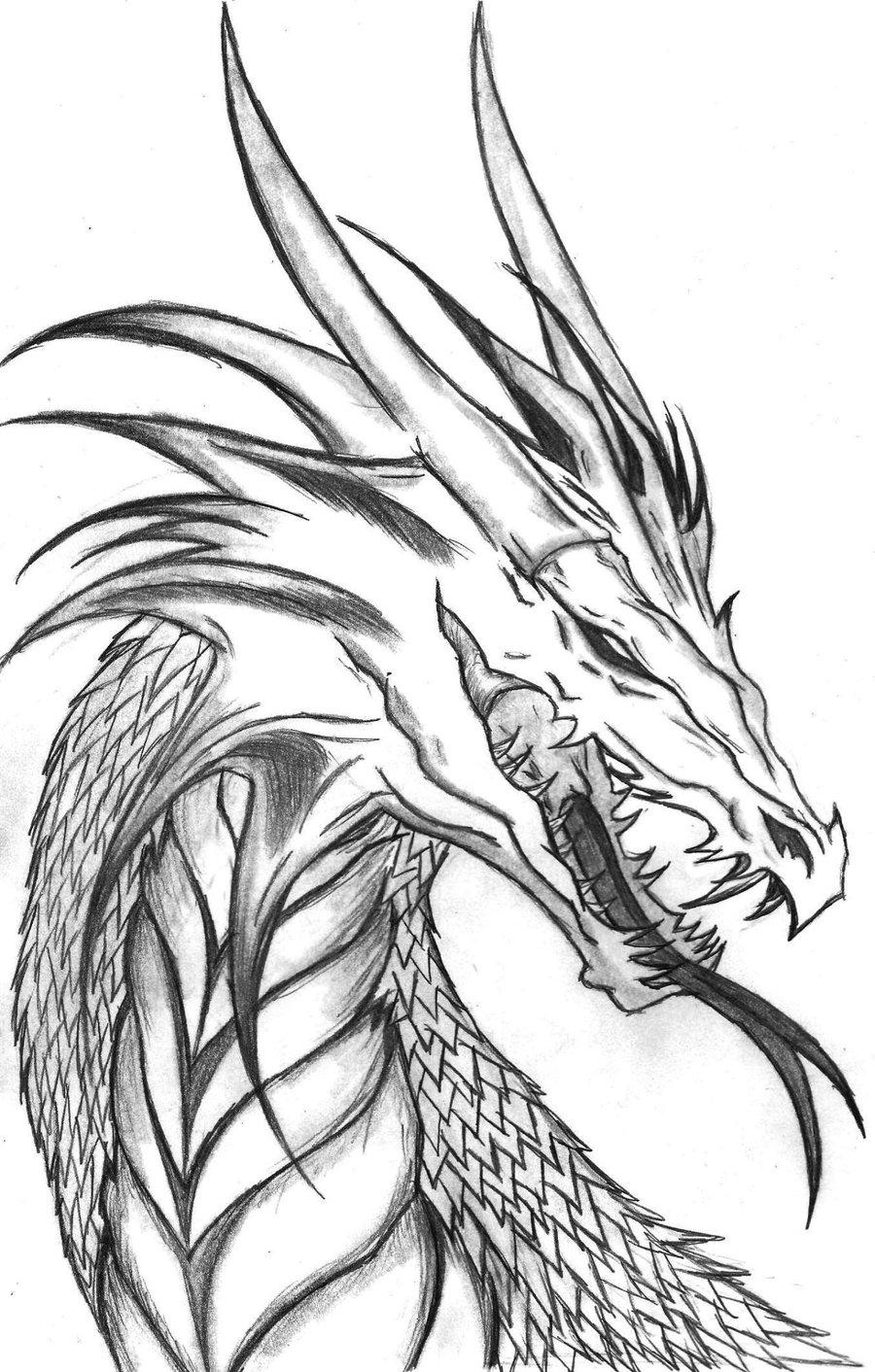 Coloriages à imprimer : Dragon, numéro : 228453