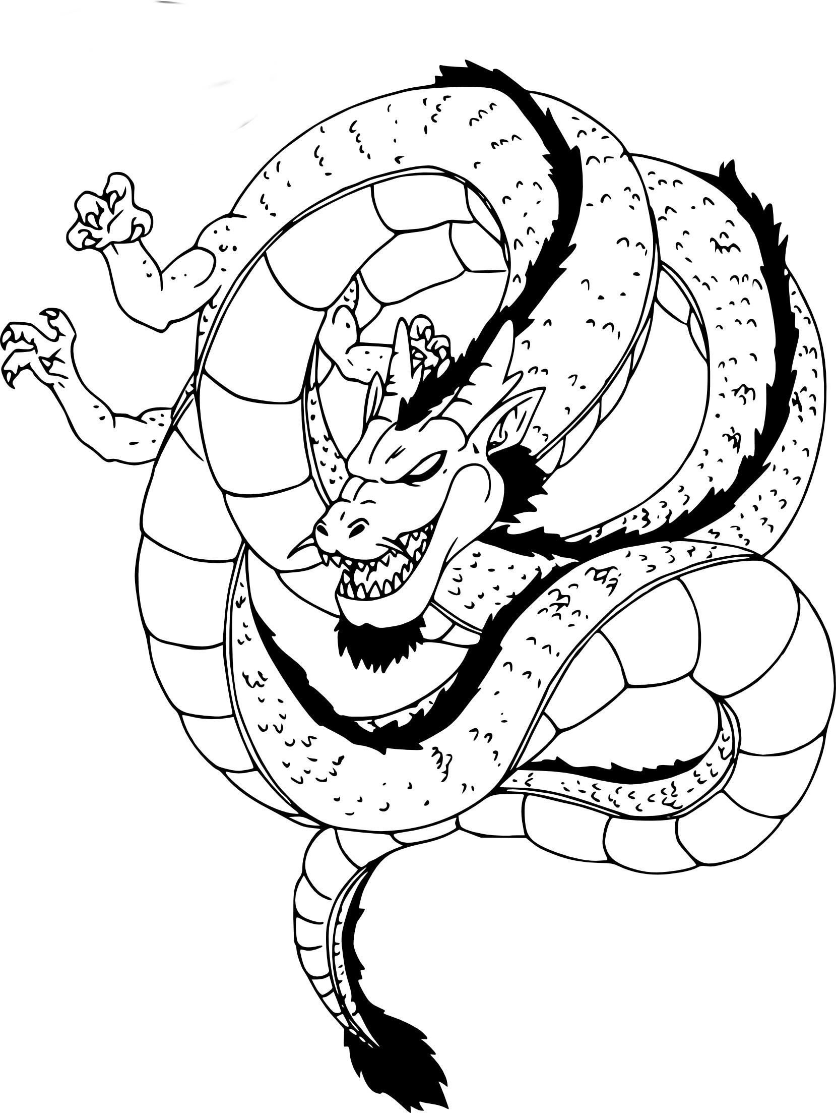 Coloriages à imprimer : Dragon, numéro : 253470c1