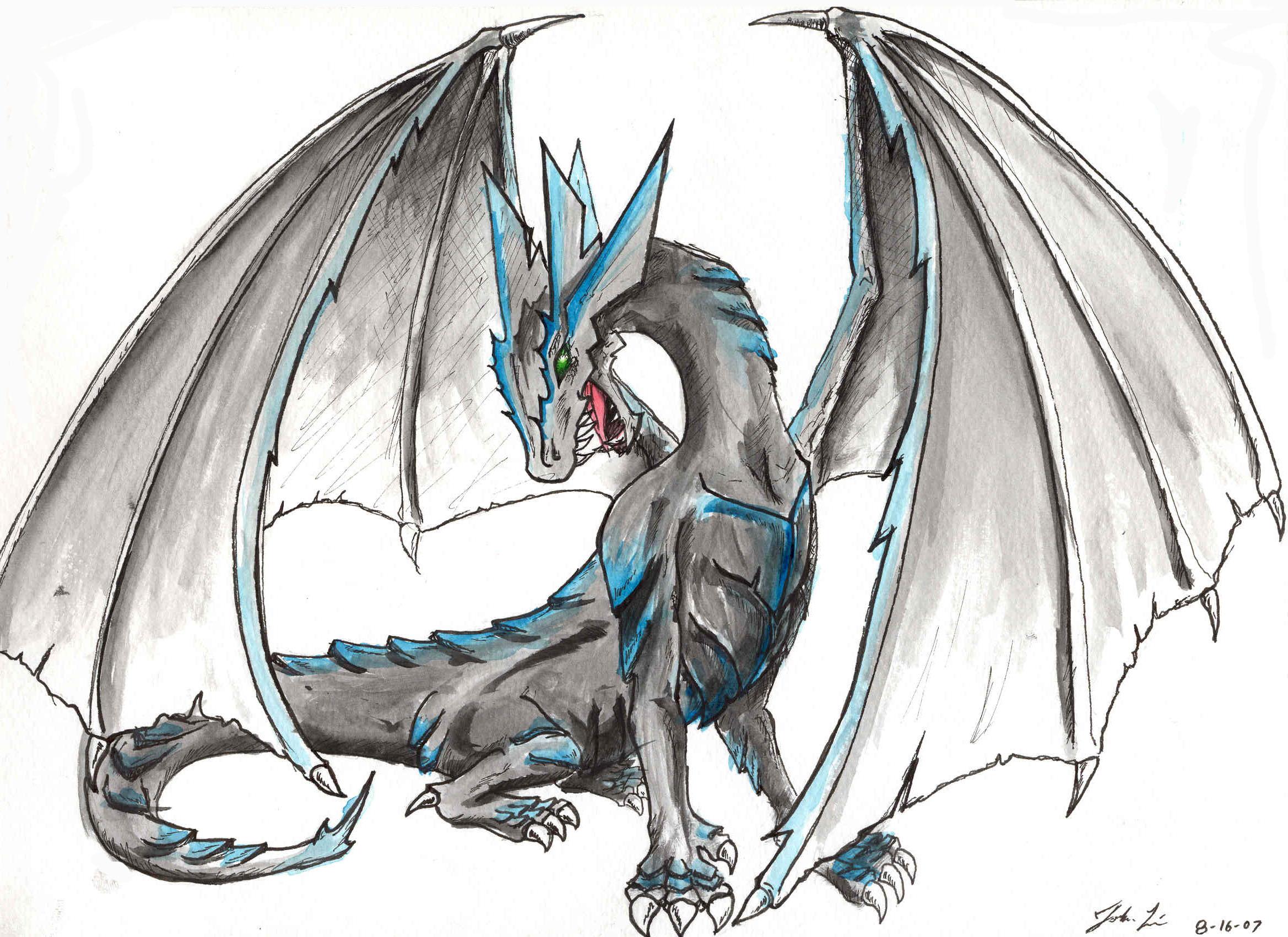 Dessins en couleurs à imprimer : Dragon, numéro : 364190