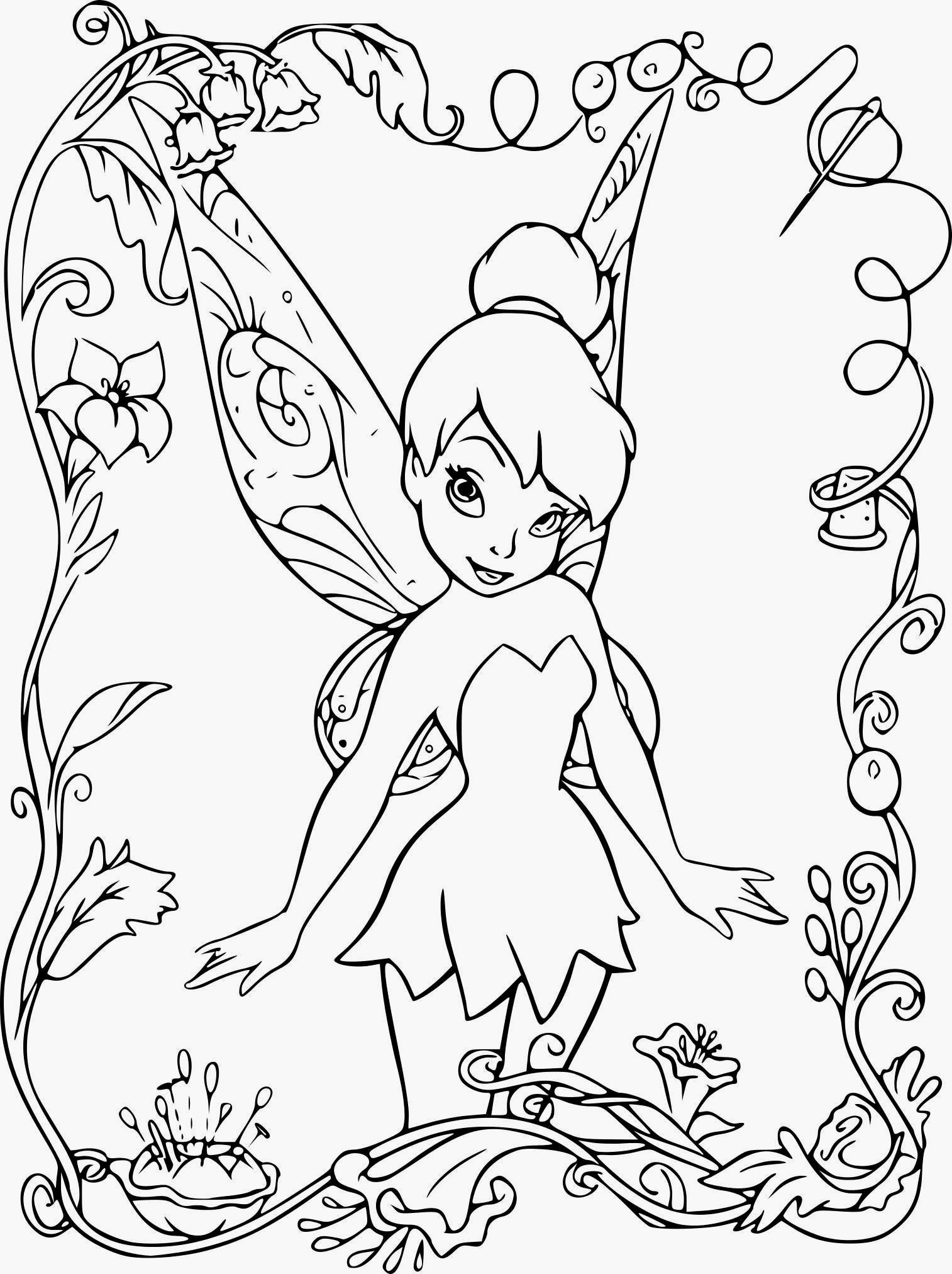 Coloriages à imprimer  Fée Clochette, numéro  df32c32d32