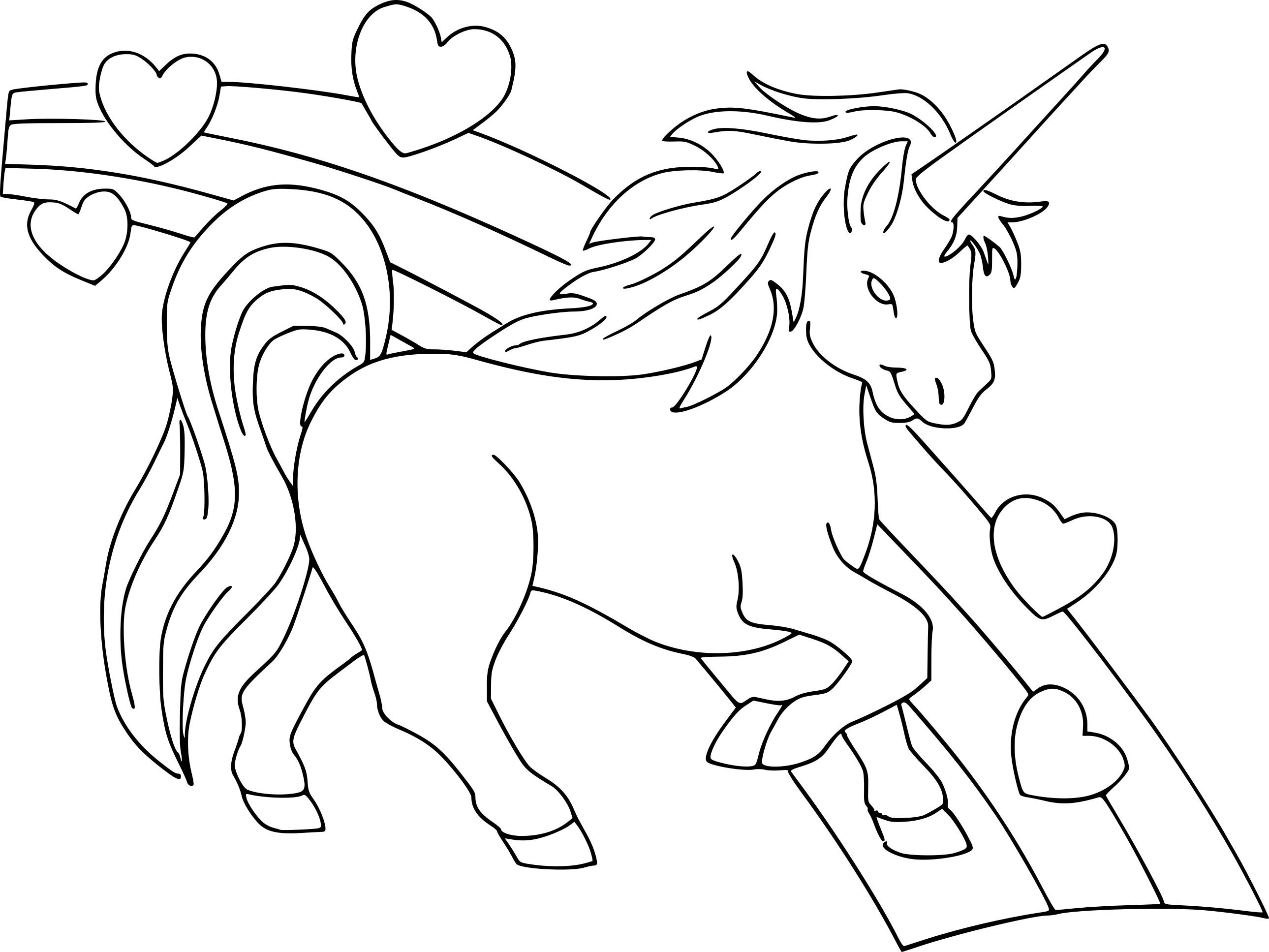 Coloriages à imprimer : Licorne, numéro : 3c94faf8