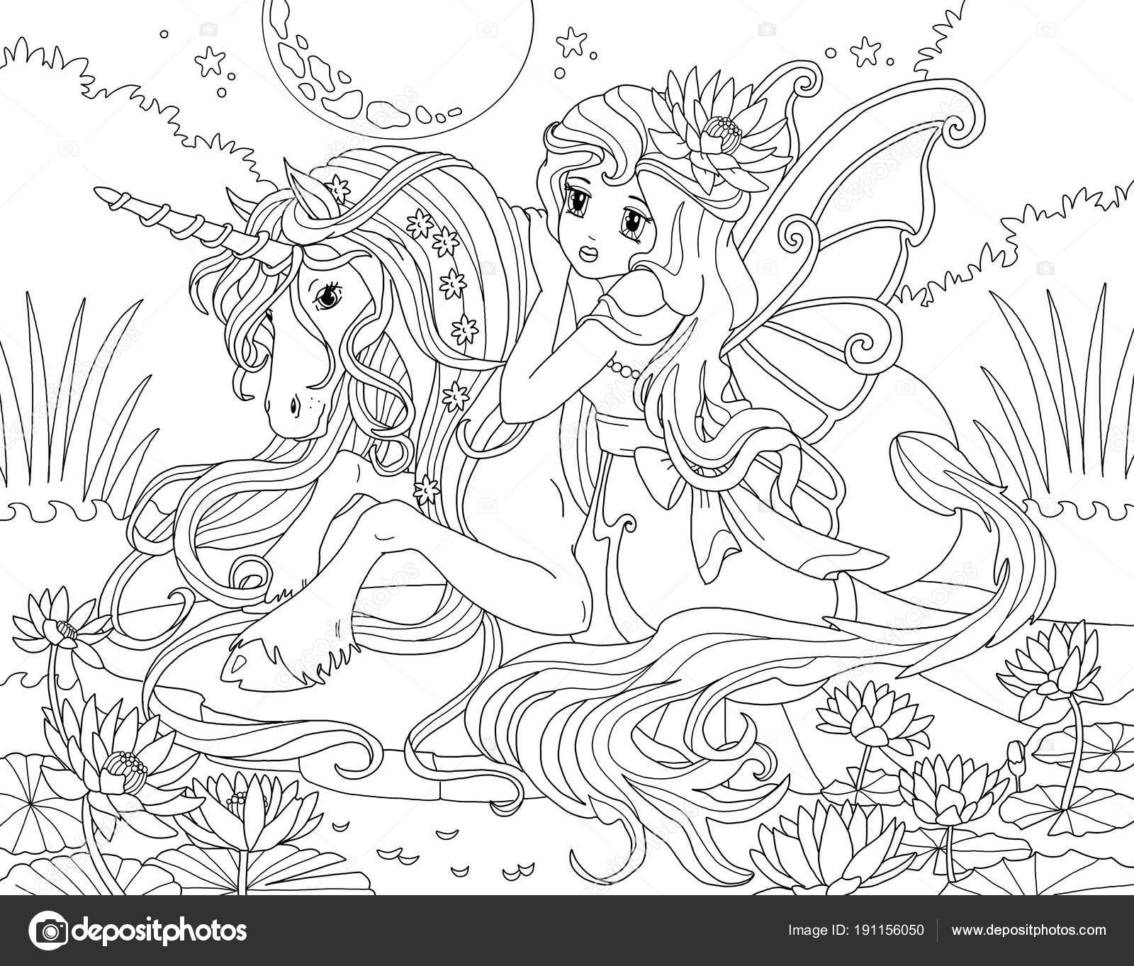Coloriages à imprimer  Licorne, numéro  32a32