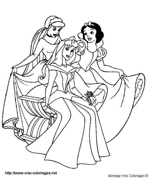 Coloriages à imprimer : Princesse, numéro : 13165