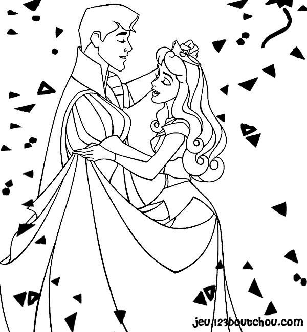 Coloriages à Imprimer Princesse Numéro 8272