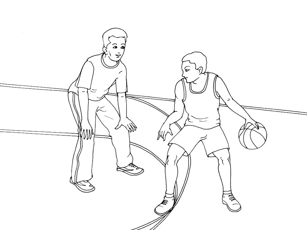 Coloriages à imprimer : Basketball, numéro : 459894