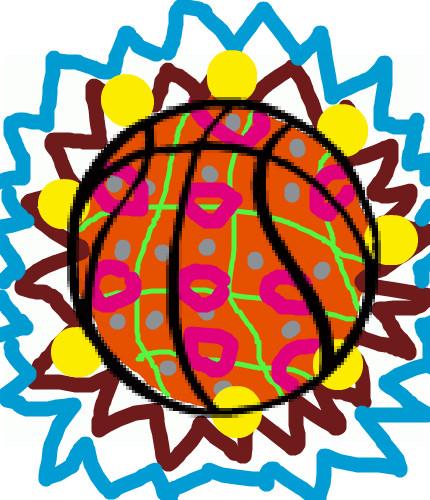 Dessins en couleurs à imprimer : Basketball, numéro : 464661
