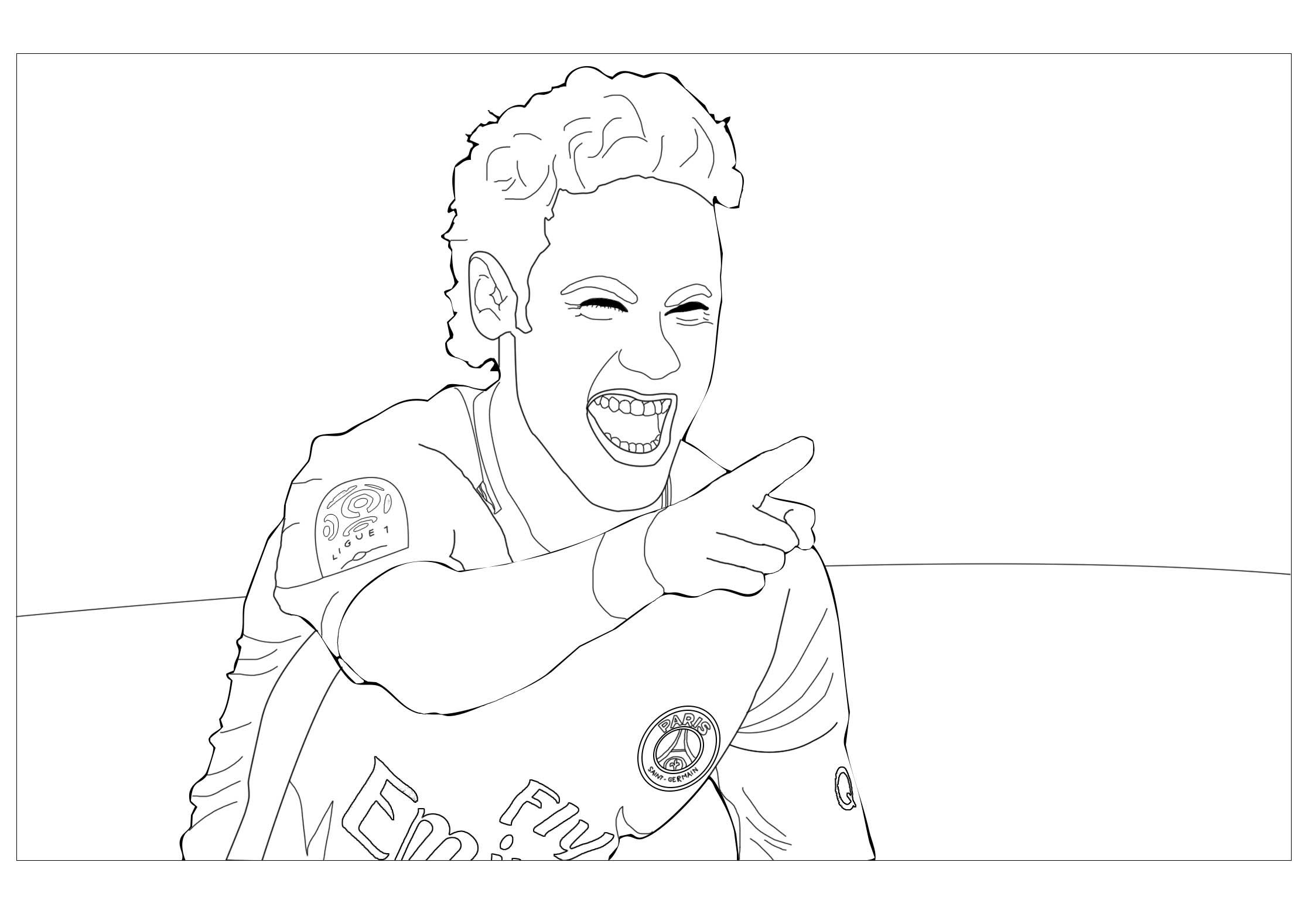 Coloriages à imprimer  Football, numéro  32b32e