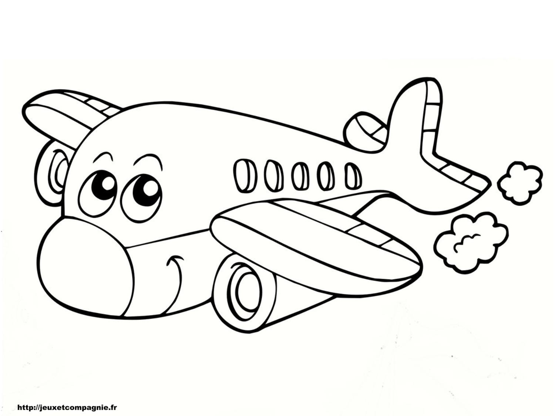 Dessins en couleurs à imprimer : Avion, numéro : 117709