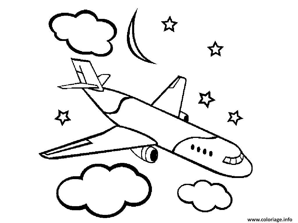 Coloriage Avion A Imprimer.Coloriages A Imprimer Avion Numero 4d4e4c71