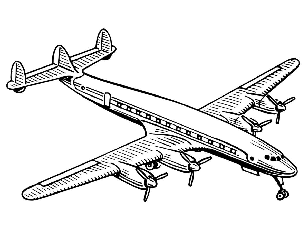 Coloriages A Imprimer Avion Numero F85b5a1e