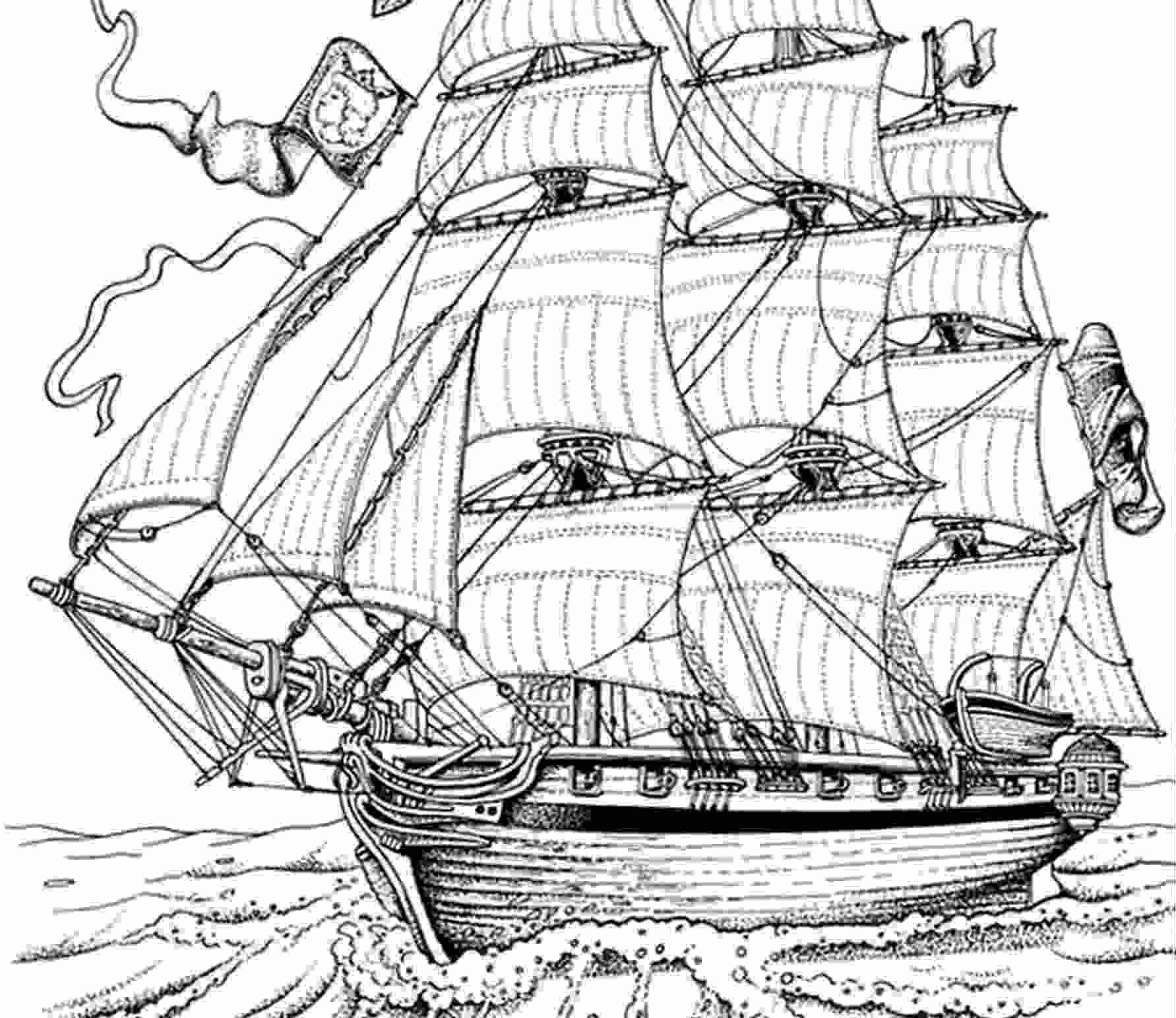 Coloriages à imprimer : Bateau, numéro : 1770
