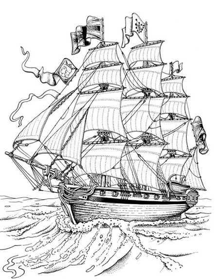 Coloriages à imprimer : Bateau, numéro : 17708