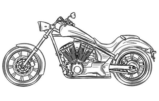 Coloriages 224 Imprimer Moto Num 233 Ro 433796