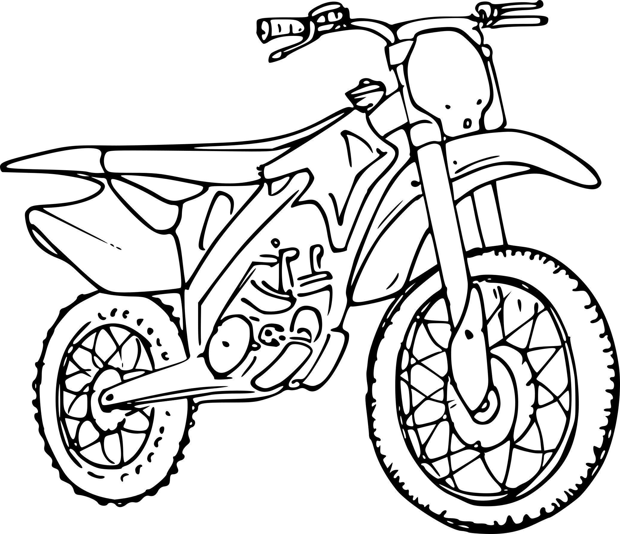 Coloriages à imprimer : Moto, numéro : 81edbd0e