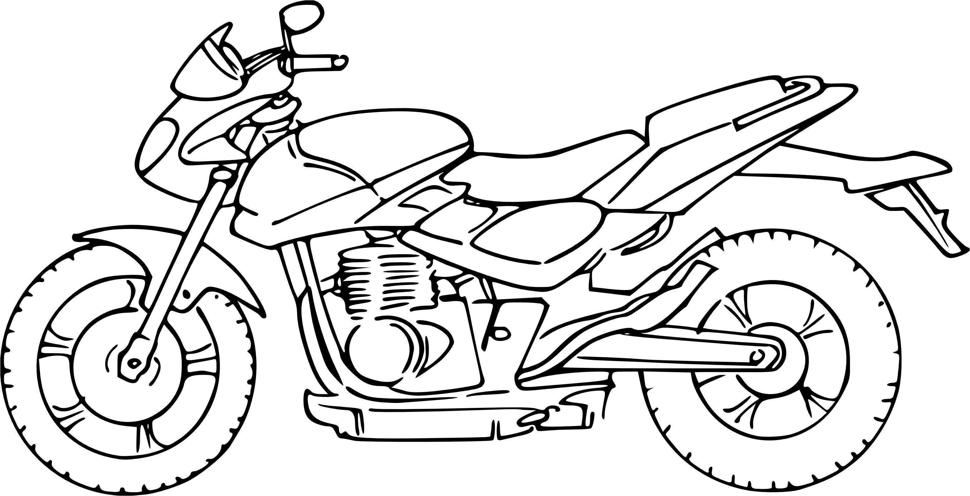 Coloriages à imprimer : Moto, numéro : 9987e8c8