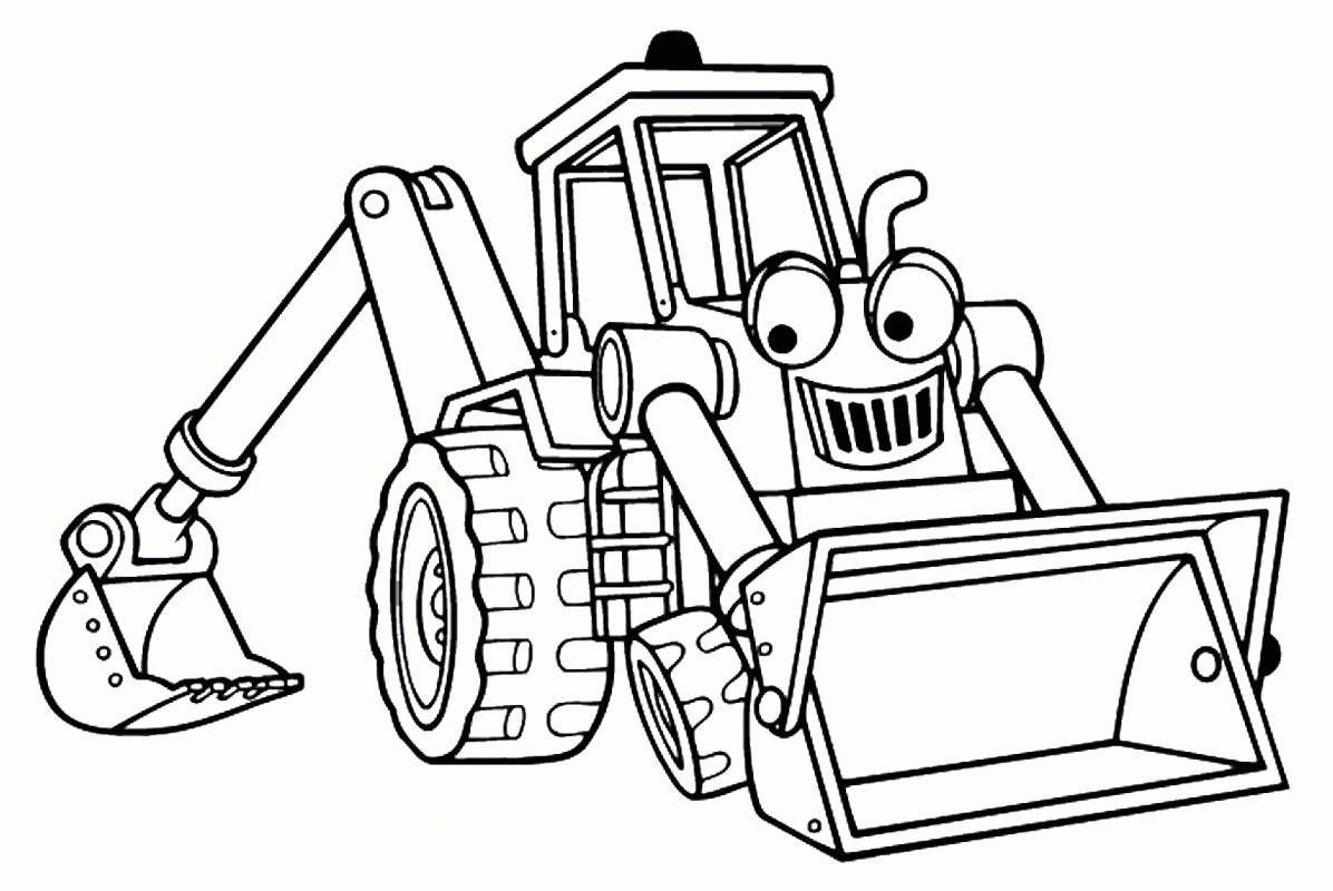 Coloriages A Imprimer Tracteur Numero 10828c5