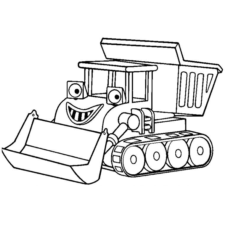 Coloriages à imprimer : Tracteur, numéro : 16976