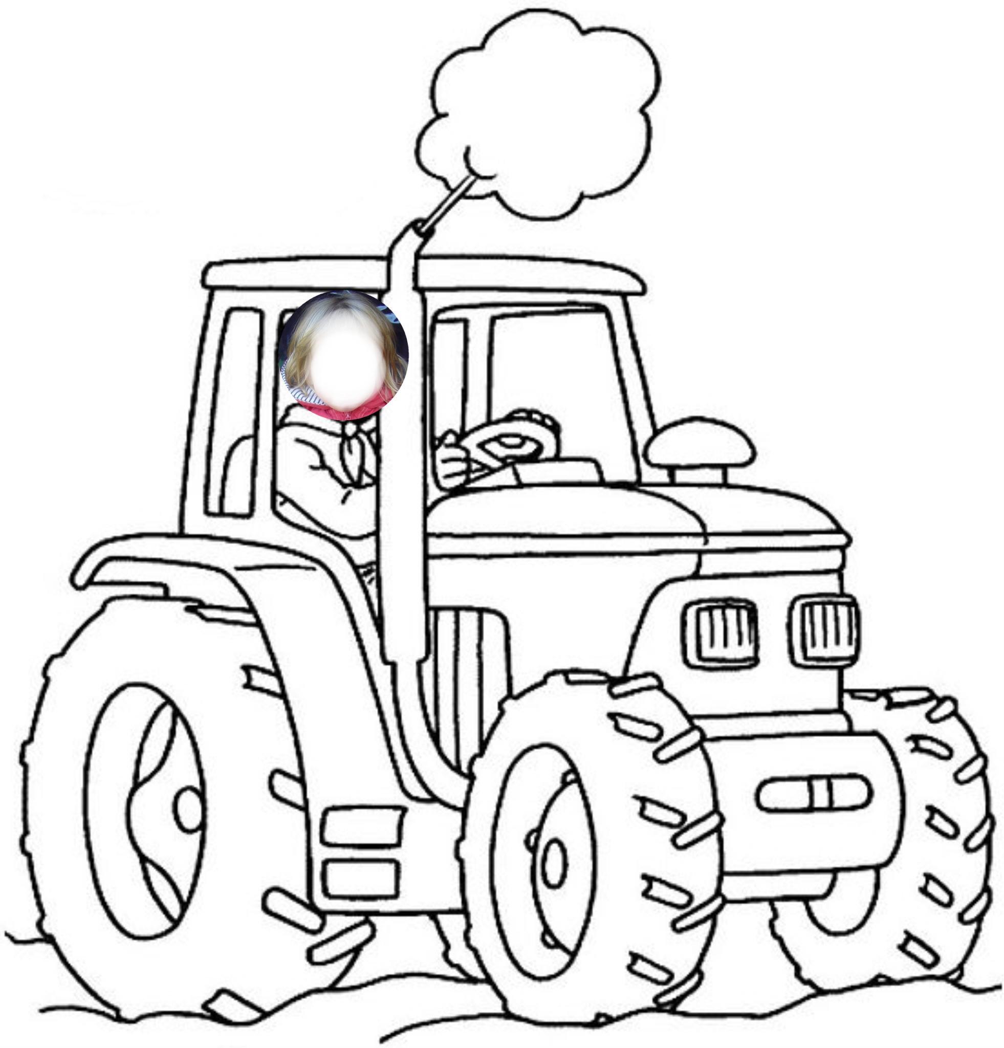 Coloriages à imprimer : Tracteur, numéro : 359276