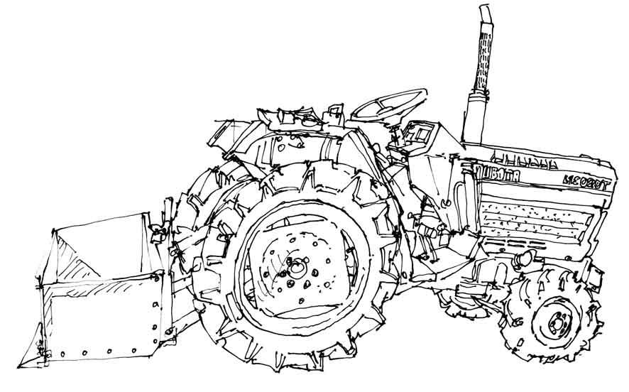 Kleurplaat Tractor Claas Wellcome To Image Archive: CLAAS ...