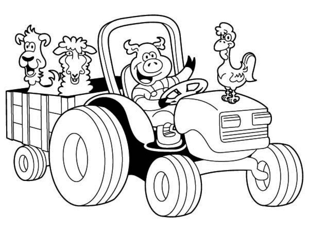 Coloriages à imprimer : Tracteur, numéro : 470bf971