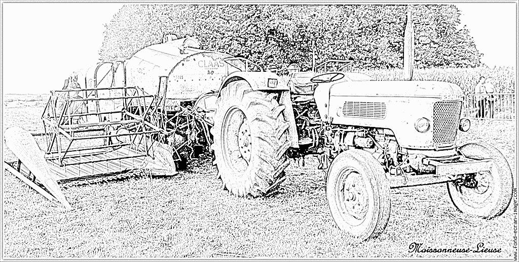 Coloriages à imprimer : Tracteur, numéro : 53745