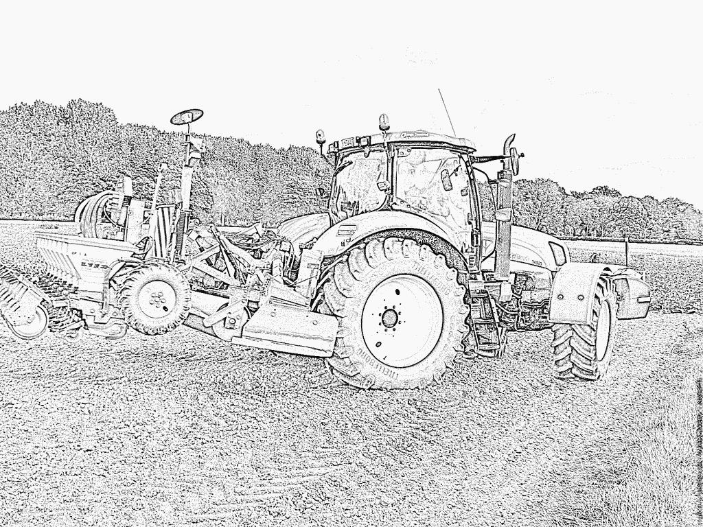 Coloriage De Ferme Avec Tracteur Et Animaux.Inspirational Coloriage Tracteur A Imprimer Belle Coloriage