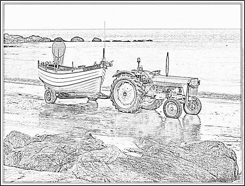 kleurplaat john deere malvorlage traktor ausmalbild 6552