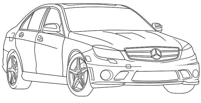 Coloriages à imprimer : Audi, numéro : 148456