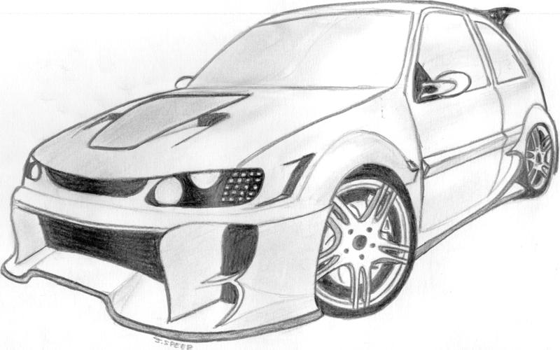 Tuning Dessin Voiture De Sport~tuning dessin voiture de ...
