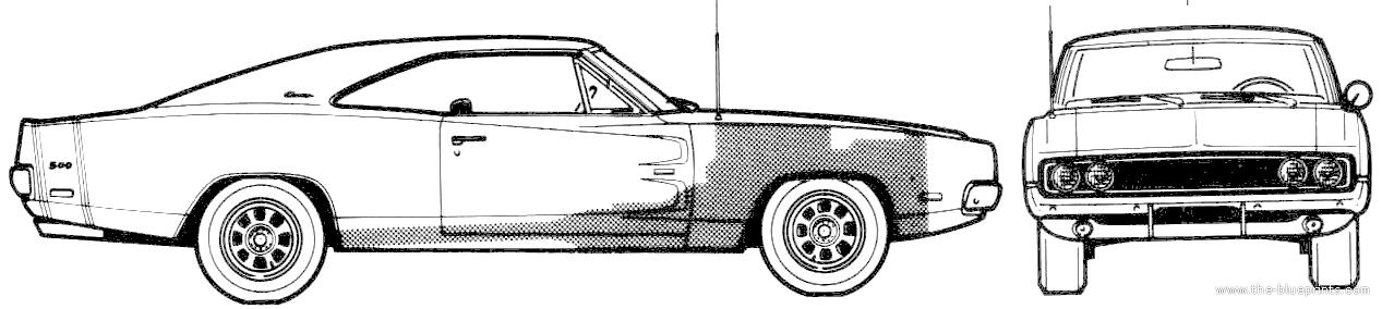 Coloriages à imprimer : Dodge, numéro : 469569