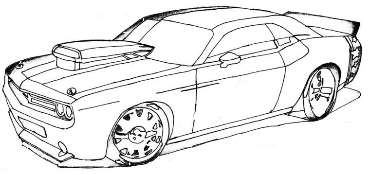 Coloriages à imprimer : Dodge, numéro : 61772