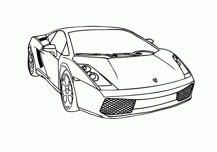 Dessins en couleurs à imprimer : Ferrari, numéro : 274251