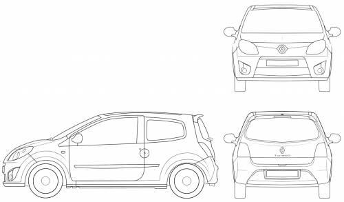 Coloriages A Imprimer Renault Numero 553718