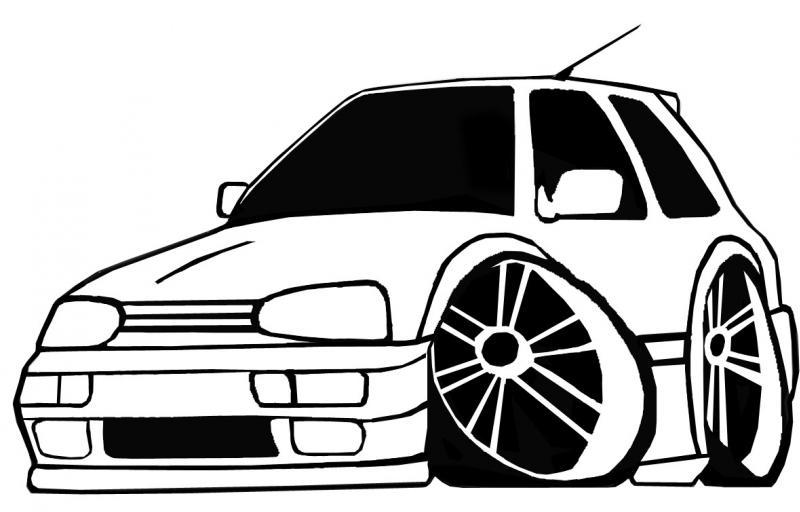 Coloriages à imprimer : Volkswagen, numéro : 114575
