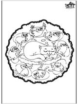 Imprimer le dessin en couleurs : Animaux, numéro 116643