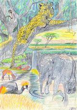 Imprimer le dessin en couleurs : Animaux, numéro 136595