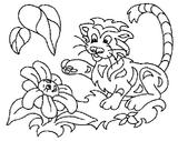 Imprimer le coloriage : Animaux carnivores, numéro 147165