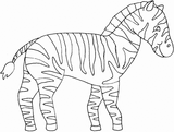 Imprimer le coloriage : Animaux carnivores, numéro 186532
